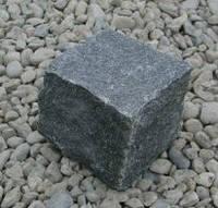 Брусчатка базальт (черная) 10х10х10