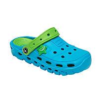 Детские сандали-кроксы ТМ Calipso размер 30-35 розовый, голубой 35