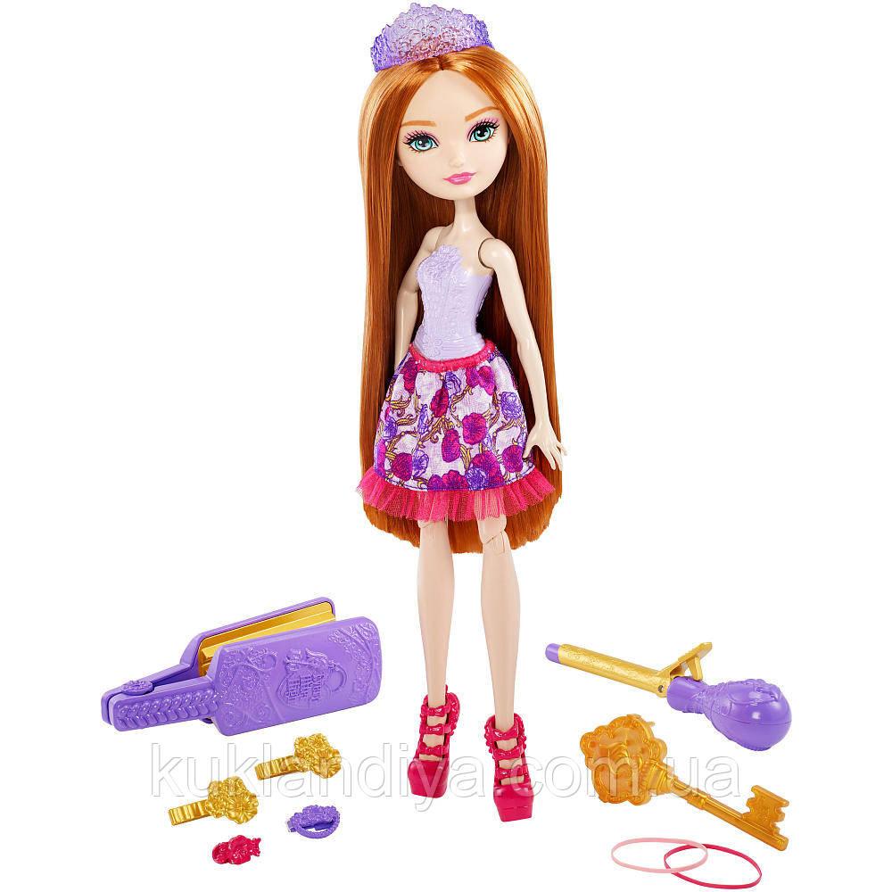 Лялька Ever After High Холлі Охейр Стиль Казкові зачіски - Holly O Hair Style Hairstyling