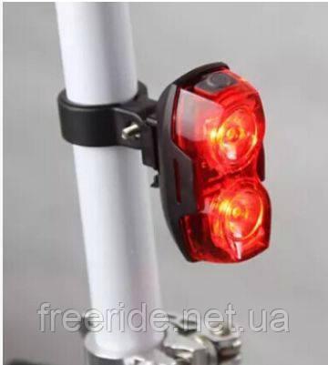 Задний габарит, мигалка для велосипеда (2 LED)