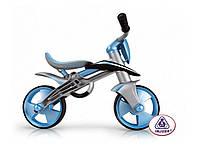 Беговел-каталка BLUE JUMPER + шлем