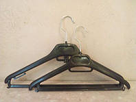 Вешалки, плечики тремпеля 40см с перекладиной жесткий металлический крючок
