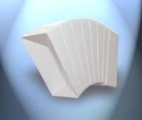Система пластивент колено 55\110 горизонтальное многоугольное