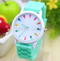 Яркие женские часы Geneva Есть 3 цвета!