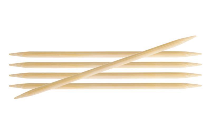 Спиці шкарпеткові 15 см Bamboo KnitPro 4,50 мм