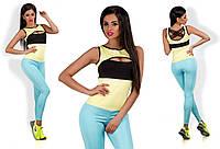 Комбинезон для фитнеса № 212 цвета