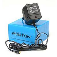 Адаптер живлення 6В 500мА ROBITON B6-500 с фиксированным выходным напряжением