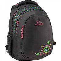 Рюкзак Kite 801 Take'n'Go-3 Черный с цветочками (K15-801-3L)