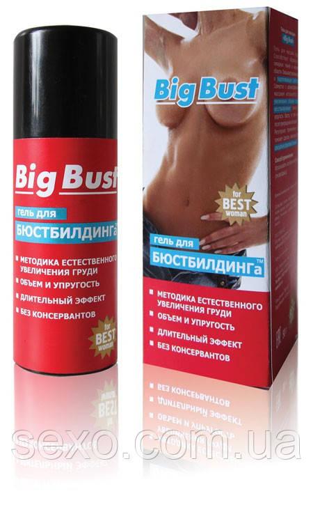 """Гель для увеличения груди """"Big bust"""", 50 мл. - Секс-шоп интернет-магазин SEXO.COM.UA в Кривом Роге"""