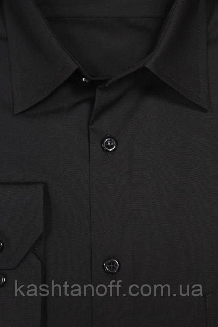 Черная школьная рубашка