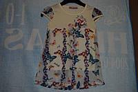 """Нарядное платье""""Бабочки""""р 92-98-104 Турция"""