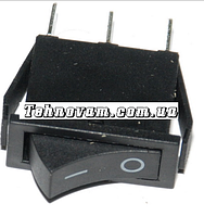 Тумблер 2 положения 3 контакта 14*30 mm