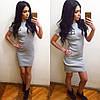 Платье с коротким рукавом со значком, фото 2