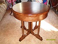 Реставрация круглого стола 20х годов.