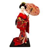 Японская кукла «Красавица с зонтиком», фото 1