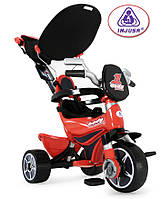 Детский велосипед трехколесный Body - Injusa Испания - ремни безопасности,