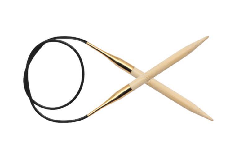 Спицы круговые 80 см Bamboo KnitPro  5,00 мм