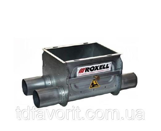 Сдвоенная корзина Roxell FA оцинкованная без комплектующих труба 90