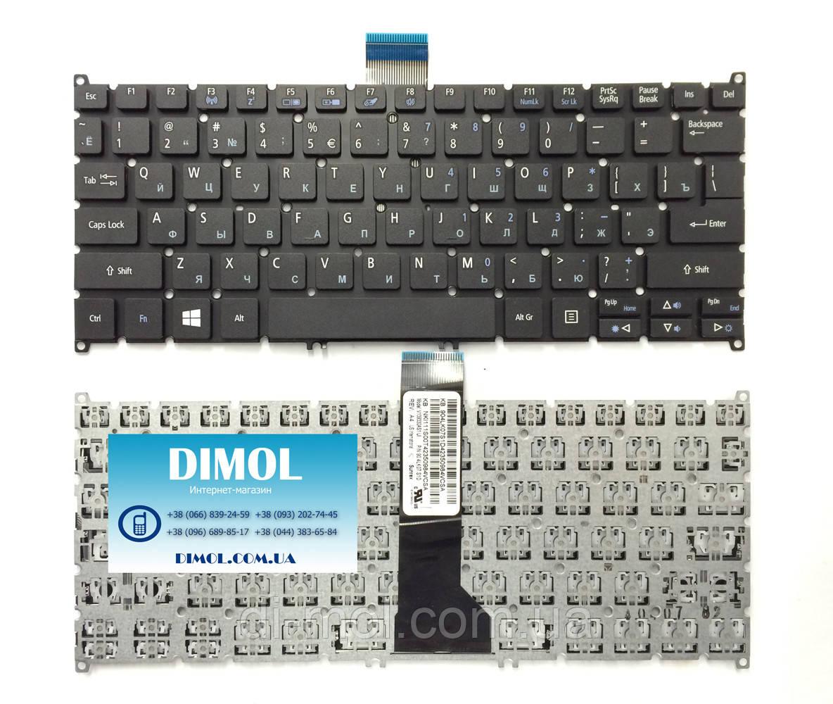 Оригинальная клавиатура для ноутбука Acer Aspire V3-112P (ver. V13)