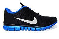 Мужские беговые кроссовки NIKE Free Run  3.0, черные Р. 41 42 43 44 45