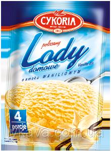 Порошок для приготовления мороженного Lody domowe Cykoria с ванильным вкусом, 60 гр, фото 2
