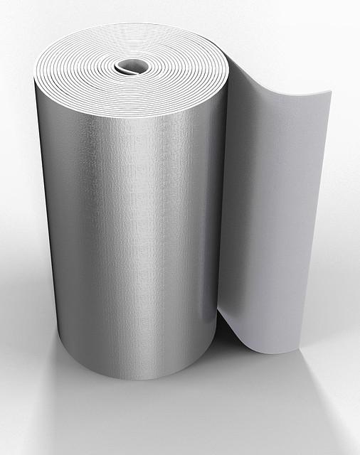 710dbec6f9ba Вспененный каучук фольгированый самоклеющийся 25мм, Oneflex (ВАНФЛЕКС)