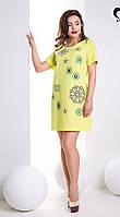 Короткое Гламурное Платье со Стразами Яблоко XS-XL