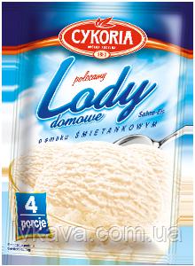 Порошок для приготовления мороженного Lody domowe Cykoria со сливочным вкусом, 60 гр, фото 2