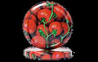 Евро крышки твист офф-82  с рисунком (овощи)
