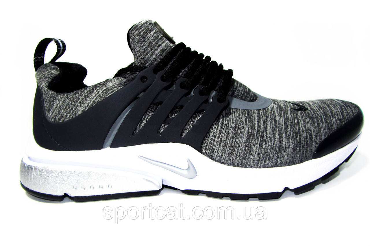 Мужские кроссовки  Nike Air Presto, текстиль, серые
