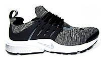 Мужские кроссовки  Nike Air Presto, текстиль, серые, фото 1