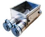 Сдвоенная корзина FA из н/ж стали без комплектующих  75 мм