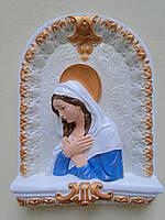 Матір Божа в образі (синя)