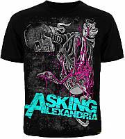 Футболка Asking Alexandria Skelet