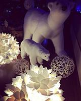 Наш клиент показал нам, как отлично лампы-уютницы могут вписаться в новогодний интерьер дома