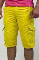 Мужские бриджи желтого цвета , фото 1