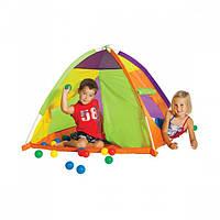Детские игровые палатки и сухие бассейны