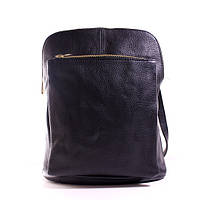 Итальянский кожаный рюкзак BIC0-101 черный