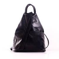 (Pirouette) Итальянский кожаный рюкзак BIC0-201 черный
