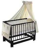 "Дитяче ліжечко  Кузя ""Анастасія"" венге ."