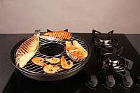 Сковорода Гриль-газ D503 (Керамическое покрытие)