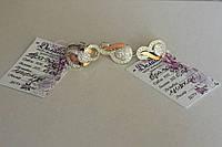 Шикарный гарнитур серебро 925 пробы с вставками золота 375 пробы, камень циркон