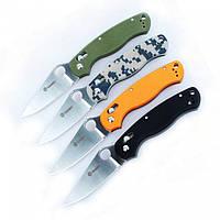 Нож Ganzo G729 (Axis lock) (черный, зеленый, оранжевый, камуфляж)
