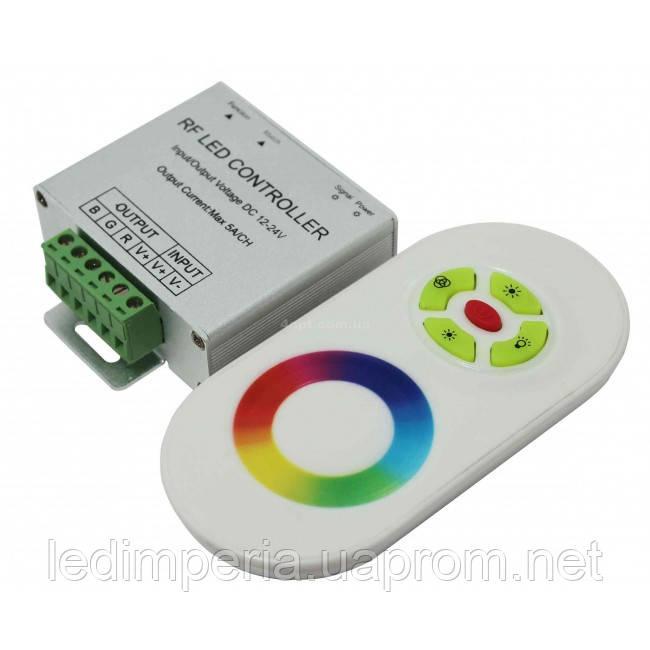Контроллер 18А-RF-Touch белый