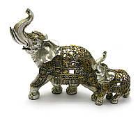 """Статуэтка """"Слониха и слоненок"""""""