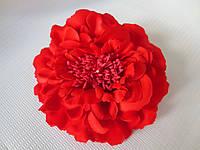 Пион, красный, d 12 см.