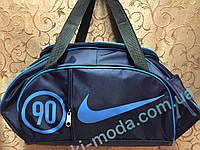 Сумка женские спортивная найк-nike синий(только оптом)женские сумка/спорт сумки/Женская спортивная сумка, фото 1