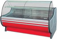 Вітрина холодильна РОСС BELLUNO 1,1-2,0 гнуте скло