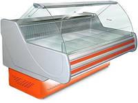 Вітрина холодильна ТЕХНОХОЛОД НЕВАДА 1,6 гнуте скло