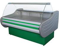 Вітрина холодильна АЙСТЕРМО ВХСК АРКТИКА-2.0 гнуте скло, фото 1